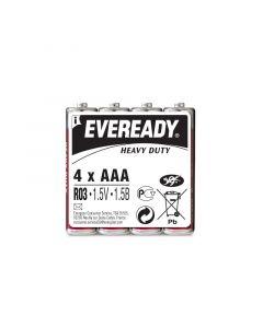 ENERGIZER EVEREADY HEAVY DUTY - szén-cink mikroelem (AAA/BL4, 1,5V, 4db)
