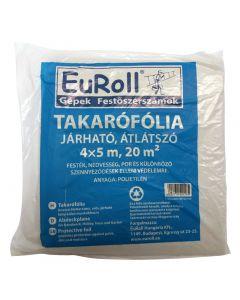 EUROLL - járható takarófólia (átlátszó, 4x5m, 20m2)