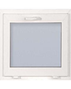 CANDO ECONOMIC - műanyag ablak (bukó, hőszigetelt üveg, 58x58cm)