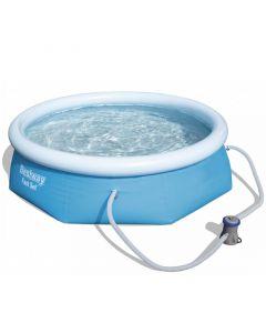 BESTWAY KORFU - puhafalú medence (Ø305x76cm, vízforgatóval)