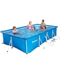 BESTWAY FLORIDA - fémvázas medence (400x211x81cm, vízforgatóval)