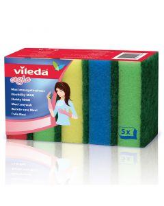 VILEDA STYLE MAXI - mosogatószivacs (5db)