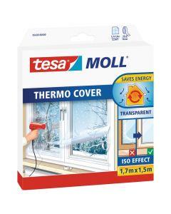 TESA MOLL - hőszigetelő ablakfólia (1,7x1,5m, átlátszó)