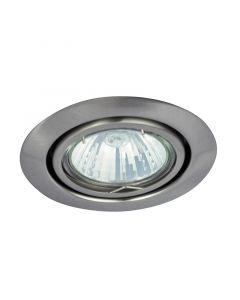 RÁBALUX RELIGHT - beépíthető billenő spotlámpa (GU5.3, szatén króm)
