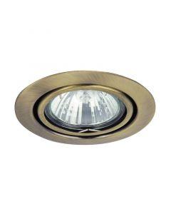 RÁBALUX RELIGHT - beépíthető billenő spotlámpa (GU5.3, bronz)