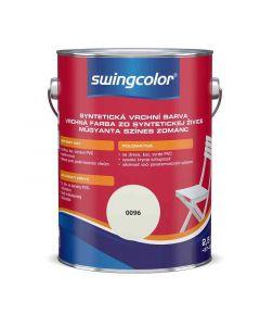 SWINGCOLOR - zománcfesték - ófehér (selyemfényű) 2,5L