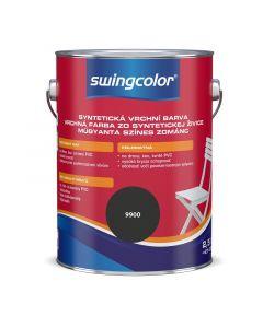 SWINGCOLOR - zománcfesték - fekete (selyemfényű) 2,5L