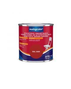 SWINGCOLOR - zománcfesték - tűzvörös (selyemfényű) 0,375L