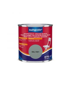 SWINGCOLOR - zománcfesték - ezüstszürke (selyemfényű) 0,375L