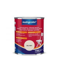 SWINGCOLOR - zománcfesték - krémfehér (selyemfényű) 0,75L