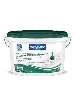 SWINGCOLOR - beltéri falfesték - matt fehér 2,5L