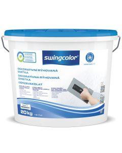 SWINGCOLOR - dörzsvakolat - fehér (2mm) 20kg
