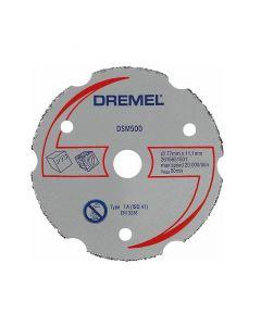 DREMEL DSM500 - többfunkciós karbid vágótárcsa