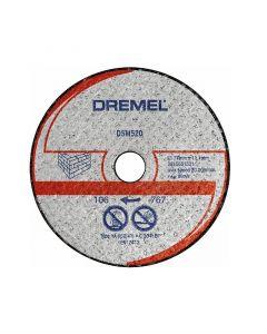 DREMEL DSM520 - falazatvágó tárcsa (2db)