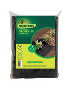 NORTENE GEOTEX - geotextília (1,6x10m, fekete)