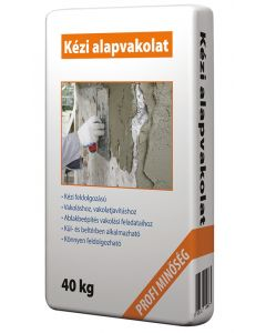 Kézi alapvakolat 40kg