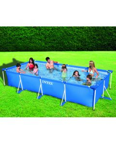 INTEX FRAME POOL SET FAMILY - fémvázas medence (450x220x84cm)