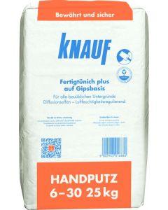 KNAUF HANDPUTZ 6-30mm - kézi gipszvakolat (25kg)