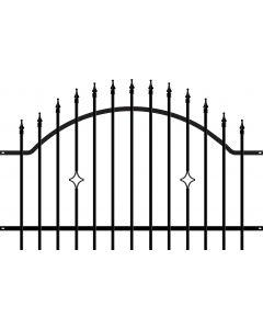POLARGOS MONACO 2 - kerítéselem (200x120cm, fém)