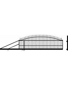 POLARGOS MONACO 2 - úszókapu (balos, 400-600x144cm, fém)