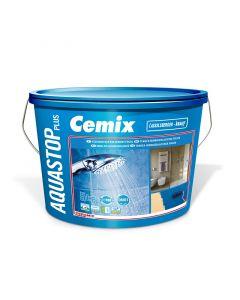 CEMIX AQUASTOP PLUS - beltéri kenhető vízszigetelés (5kg)