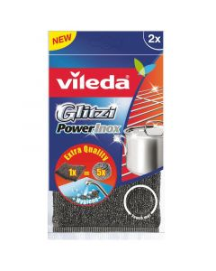VILEDA GLITZI - súrolószivacs (fém)