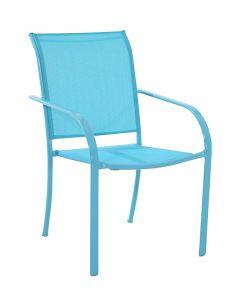 SUNFUN LEA - kerti szék (világoskék)