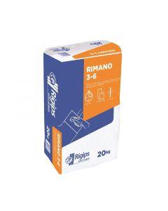 RIGIPS RIMANO 3-6 - gipszes vékonyvakolat (20kg)