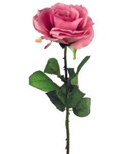 ARTFLEUR - selyemvirág (rózsa, rózsaszín, 52cm)