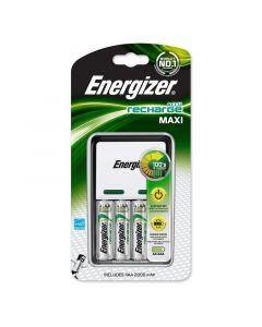 ENERGIZER ACCU RECHARGE MAXI - akkumulátortöltő (2000mAh, 4db AA elemmel)