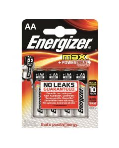ENERGIZER MAX - alkaline ceruzaelem (AA/E91, 1,5V, 4db)