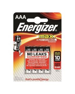 ENERGIZER MAX - alkaline mikroelem (AAA/E92, 1,5V, 4db)
