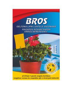 BROS - ragasztós lap virágcseréphez (10 db)