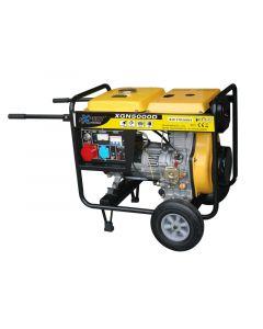 EXPERT XGN5000D - háromfázisú dízelmotoros áramfejlesztő 5000 W