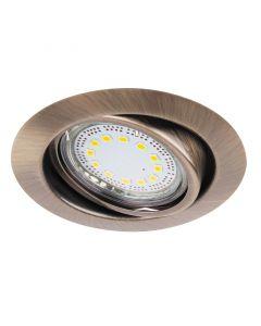 RÁBALUX LITE - beépíthető spotlámpa (3xGU10, bronz)