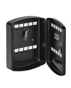 BURG WÄCHTER - kulcstartó doboz (200x255x75mm, 24 akasztó, fekete)