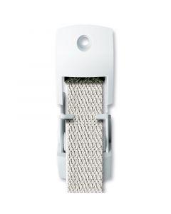 SCHELLENBERG - redőnyheveder-kivezető huzatvédővel (23mm, fehér)