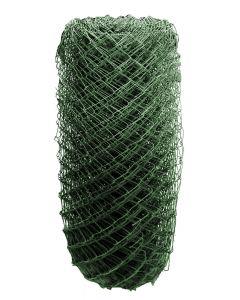 Drótkerítés műanyag bevonattal (1,2x25m, zöld)