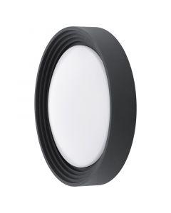 EGLO ONTANEDA - kültéri fali-mennyezeti lámpa (LED, fekete)