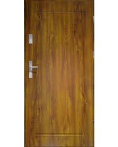 APOLLO - fém bejárati ajtó (101x207, jobbos, aranytölgy)