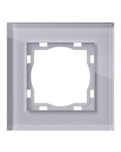ELEKTROMATERIAL ART100 - 1-es keret (üveg, ezüst)
