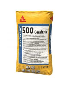 SIKA CERAM 500 CERALASTIC - vízszigetelő habarcs és csemperagasztó (20kg)