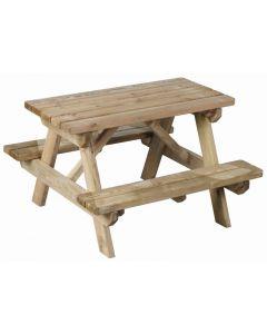 AURÉA - gyermek piknik asztal (90x89x56,5cm)