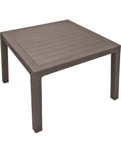 CURVER MELODY QUARTET - kerti asztal (95x95x74cm, cappuccino)