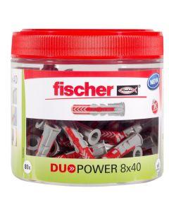 FISCHER DUOPOWER - dübel (8x40mm, 80db)