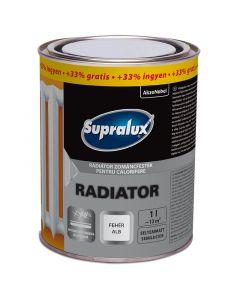 SUPRALUX RADIATOR - zománcfesték - fehér (selyemmatt) 1L