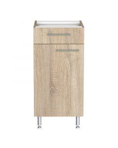 LEVENTE - konyhabútor alsószekrény (84x40x50cm, 1 ajtós, 1 fiókos)