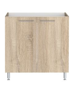 LEVENTE - konyhabútor mosogatószekrény (84x80x50cm, 2 ajtós)