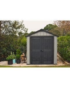 KETER OAKLAND 757 - műanyag kerti ház 229x242x223,5CM