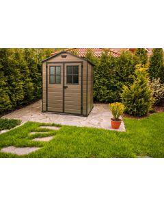 KETER SCALA 6X8 - műanyag kerti ház 185,8x227x236,8CM